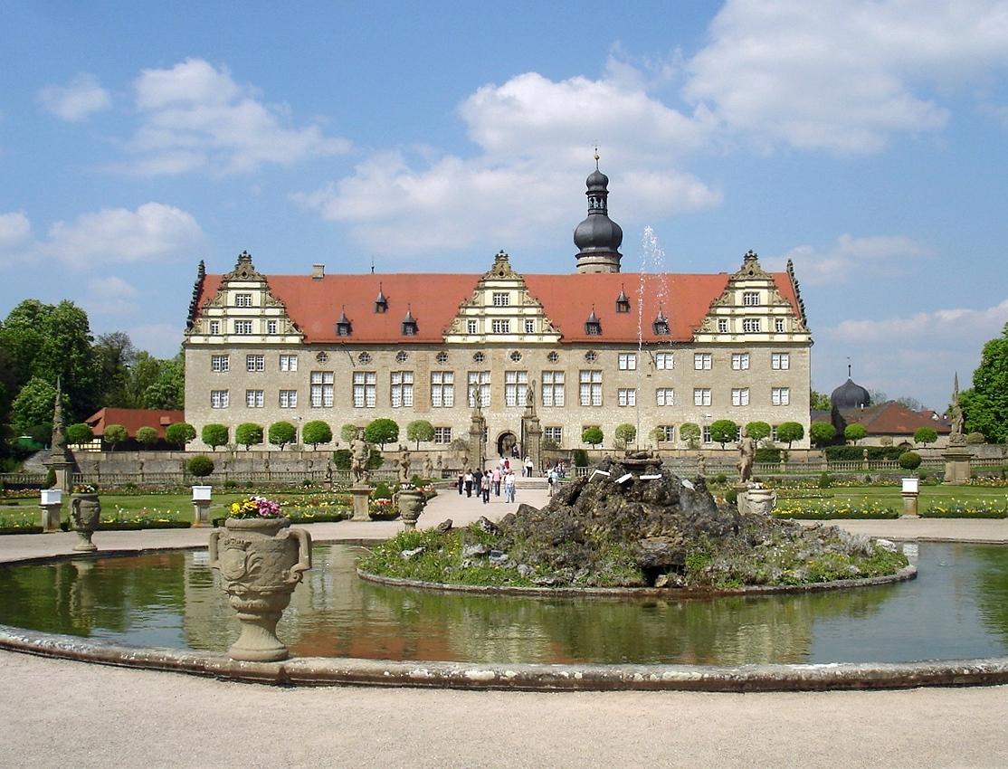 Schloss Und Park Weikersheim